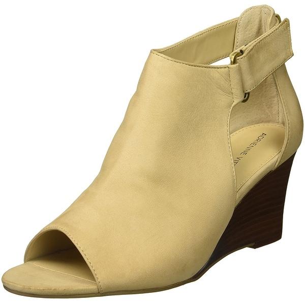 Adrienne Vittadini Womens Riva Peep Toe Casual Platform Sandals