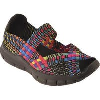 Bernie Mev Women's Comfi Mary Jane Black Multi