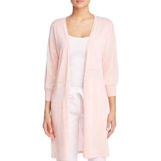 Finity Womens Cardigan Sweater 3/4 Sleeve Long