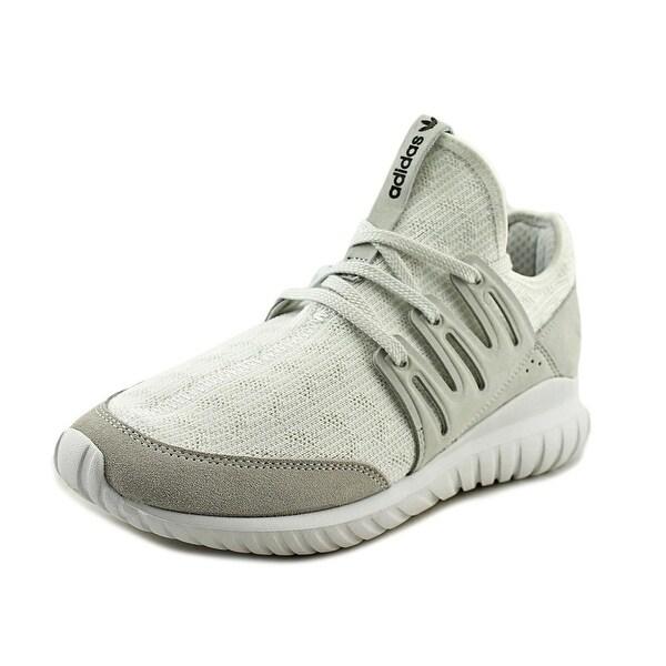 Adidas Tubular Radial Men Round Toe Canvas White Sneakers