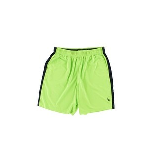 Polo Ralph Lauren Mens Contrast Trim Moisture Wicking Athletic Shorts - XXL