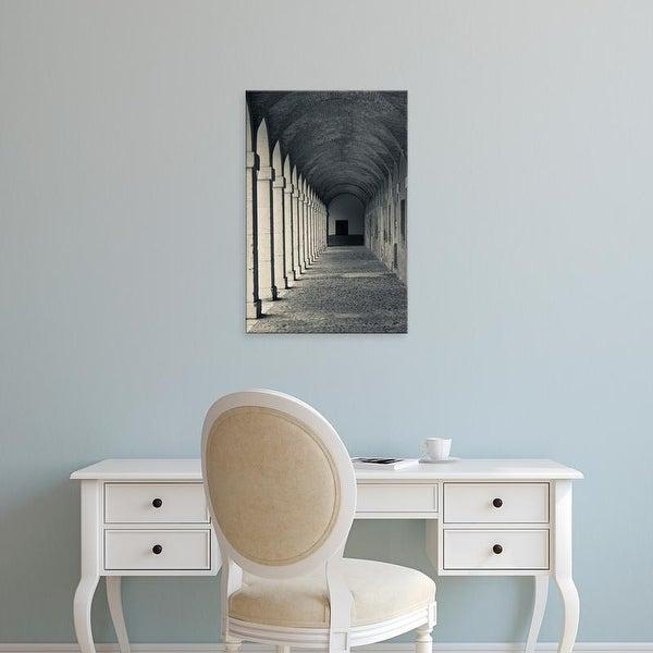 Easy Art Prints Walter Bibikow's 'Royal Palace Arched Walkway' Premium Canvas Art