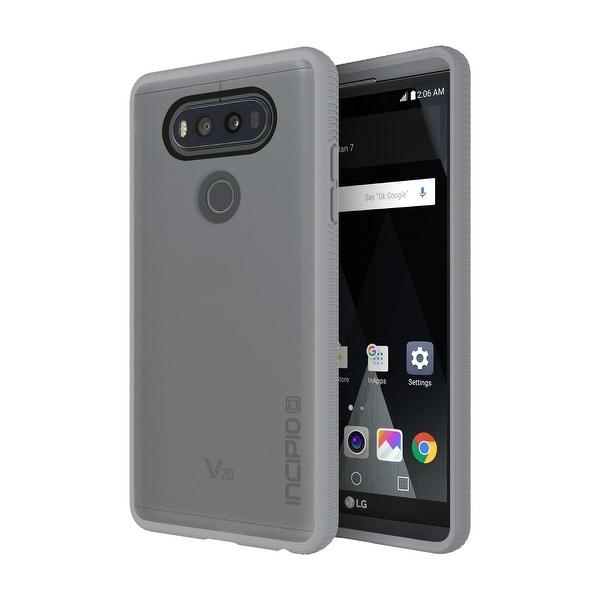 Incipio Octane Case for LG V20 Smartphone - Gray / Frost