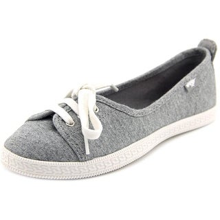 Rocket Dog Penny Women Round Toe Canvas White Flats