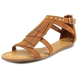 Fergalicious Dusty Women Open Toe Leather Tan Sandals