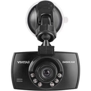 Vivitar DCM106 HD Dash Cam With Night Vision - Black