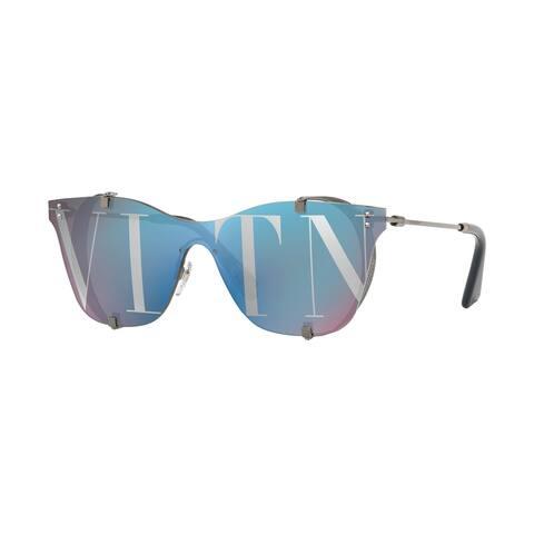 Valentino VA2016 3005V2 39 Gunmetal Woman Square Sunglasses