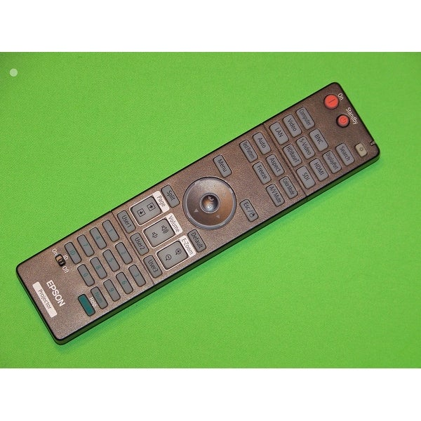 OEM Epson Projector Remote Control Shipped With PowerLite 4770W, 4650, 4750W