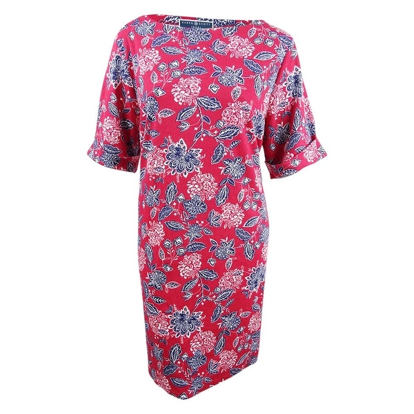 5ddebb1ac64b Shop Karen Scott Women's Plus Size Bandana-Print Dress (3X, New Red Amore)  - New Red Amore - 3X - Free Shipping On Orders Over $45 - Overstock -  28392110