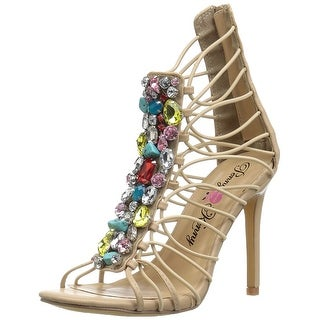 Penny Loves Kenny Womens Dare Open Toe Special Occasion Strappy Sandals