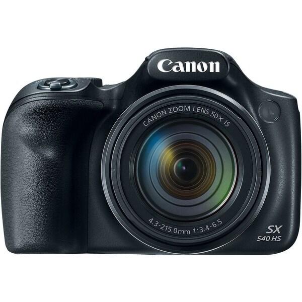 Canon PowerShot SX540 HS Digital Camera (Black)