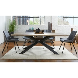 Rye Studio Roma Grey Washed Dining Table