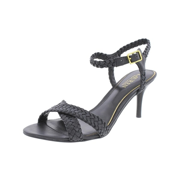 Lauren Ralph Lauren Womens Ranell Dress Sandals Open Toe Strappy