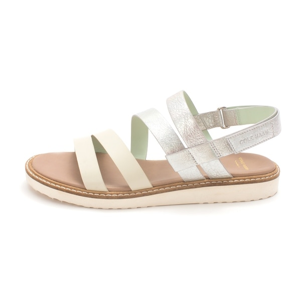 Cole Haan Womens Maddoxsam Open Toe Casual Slingback Sandals - 6