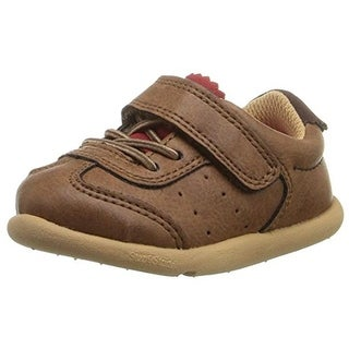 Step and Stride Derby Casual Shoes Infant Faux Leather - 3 medium (d)