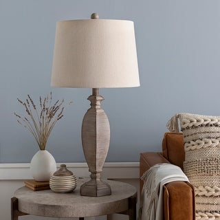 "Link to Edith Distressed Traditional 28-inch Table Lamp - 28""H x 14""W x 14""D Similar Items in Table Lamps"