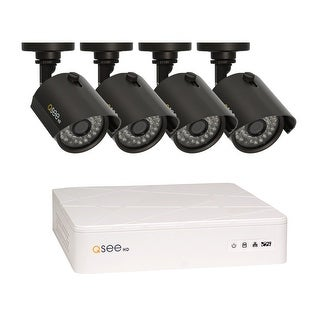 Q-See 8 Channel HD Security System with 4-720p HD Cameras, Pre-installed 1TB Hard Drive