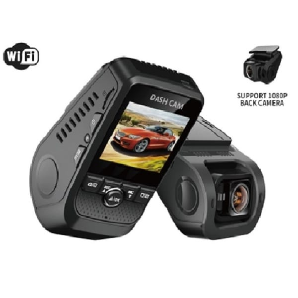 Rexing F8 2 Channel Fhd1080p Dash Cam With Sony Imx323 With Anti-Shake Function