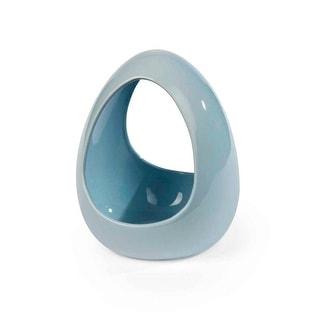 Prevue Pet Ceramic Bird Bath - Pale Blue - 6403