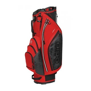 Ogio 2017 Cirrus Cart Bag - Fiery Red - fiery red