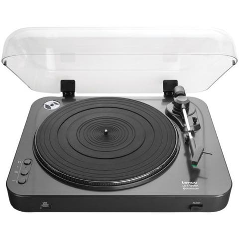 Lenco LBT-120BK L-120BK USB Direct-Recording Belt-Drive Turntable with Bluetooth