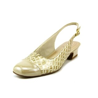 Trotters Dea Women N/S Synthetic Gold Slingback