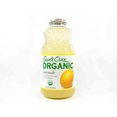 Santa Cruz Organic Juice - Lemonade - Case of 12 - 32 Fl oz.