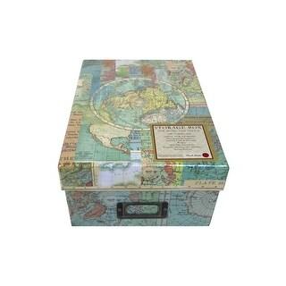 Punch Studio Photo Box World Atlas