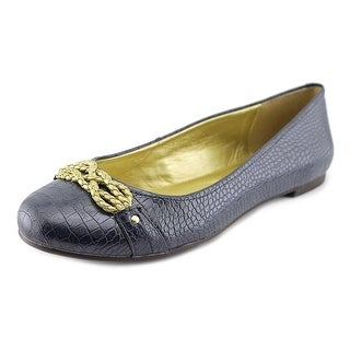 American Living Donica Women  Round Toe Synthetic Blue Flats