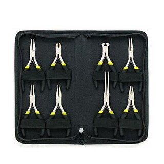 General Tools - 938 - 8 Piece Mini Plier Set