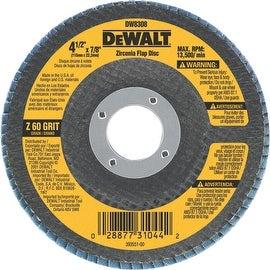 """DeWalt 4-1/2"""" 60 Grit Flap Disc"""