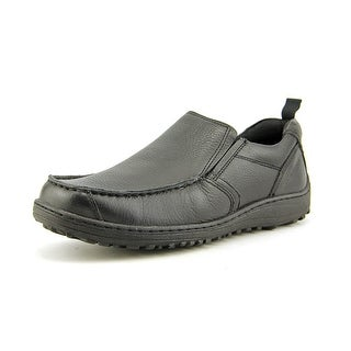 Hush Puppies Belfast Slip on MT EW Moc Toe Leather Loafer