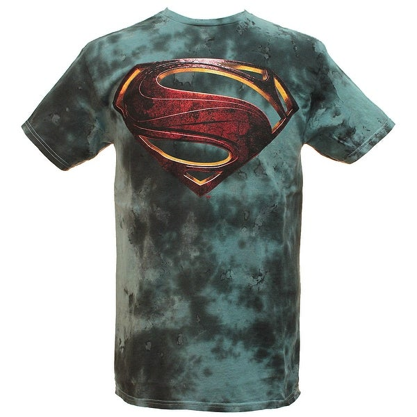 9e47b62292cf0 Shop DC Comics Justice League Movie Men's Superhero T-Shirt - On ...