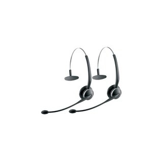 Jabra Spare GN9125 Flex Mono Wireless Extra Headset (2-Pack) w/ Noise-Canceling Microphone