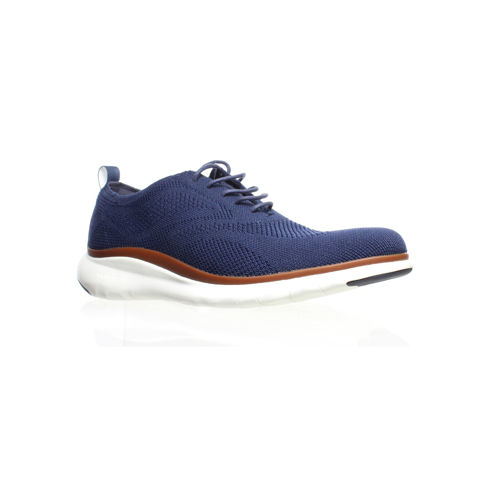 Zerogrand Blue Wing Tips Size 7.5