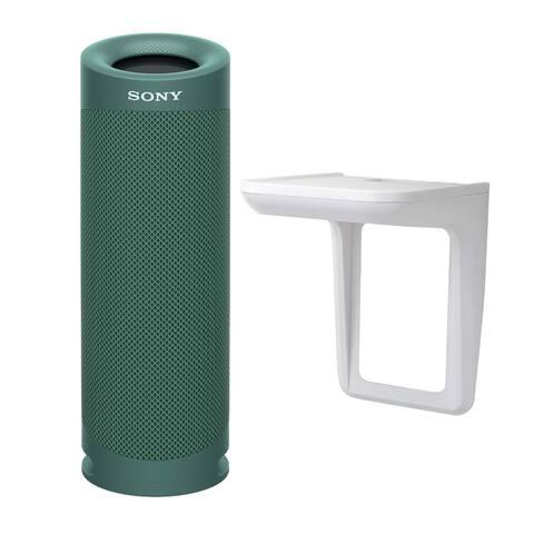 Sony SRSXB23 EXTRA BASS Bluetooth Portable Speaker (Green) Bundle
