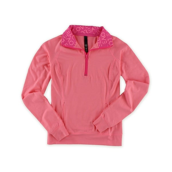 Aeropostale Womens Half Zip Pullover Basic T-Shirt. Opens flyout.