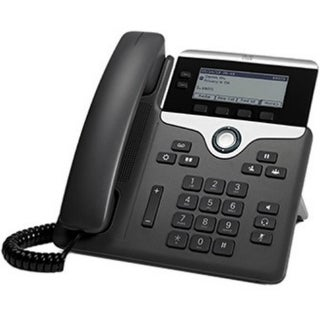 """""""Cisco CP-7821-K9= Cisco 7821 IP Phone - Cable - Wall Mountable - 2 x Total Line - VoIP - Caller ID - SpeakerphoneUser Connect"""