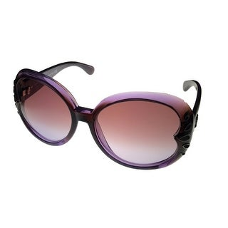 John Galliano Womens Sunglass JG 27 50Z Violet Square Fashion, Gradient Lens - Medium