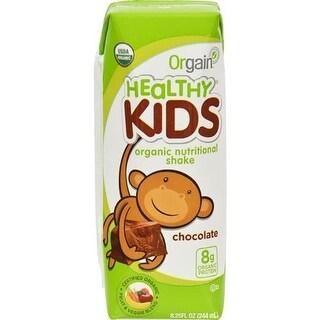 Orgain - Organic Kids Chocolate Nutrition Shake ( 12 - 8.25 FZ)