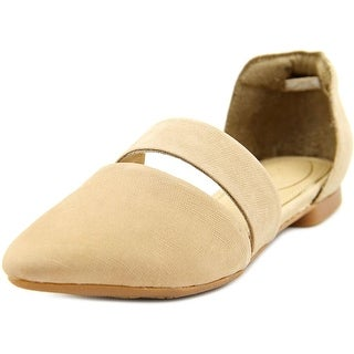Hush Puppies Kendall Trave Pointed Toe Leather Flats