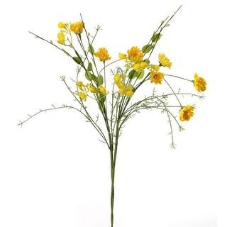 """Mini Daisy Spray 21""""-Yellow"""