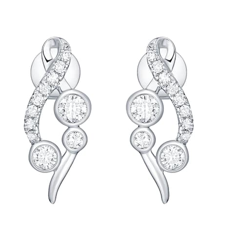 Smiling Rocks Bubbly Collection 0.47Ct G-H/VS1 Lab Grown Diamond Earring