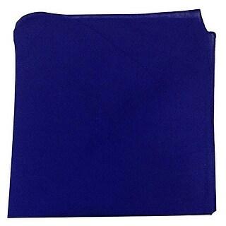 Pack of 48 Solid 100% Cotton Unisex Bandanas - Bulk Wholesale