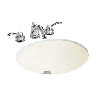"Sterling 442050 Wescott 17"" Undermount Bathroom Sink And Overflow"