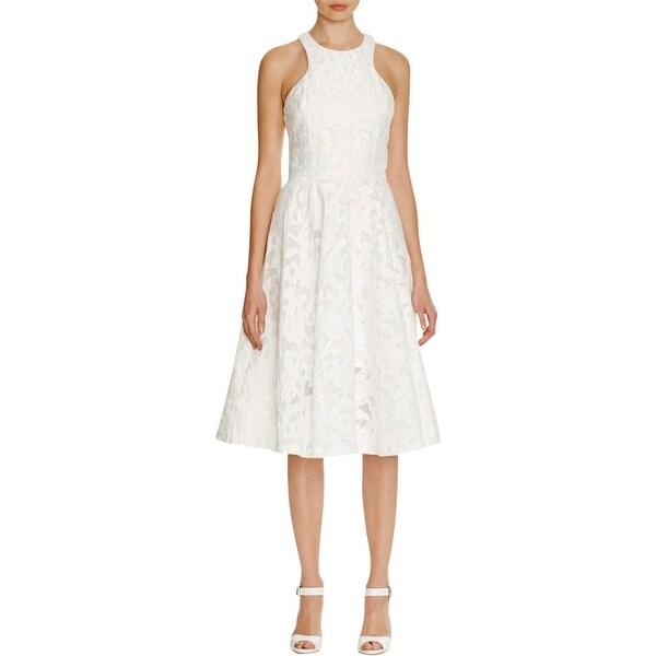 Shop Vera Wang Womens Semi Formal Dress Lace Halter Free Shipping