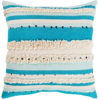 Link to The Curated Nomad Clove Shaggy Bohemian 20-inch Throw Pillow Similar Items in Decorative Accessories