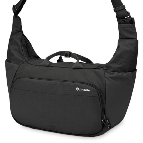 Pacsafe Camsafe V18-Black Anti-Theft Camera Sling Bag w/ Expandable  Compartment
