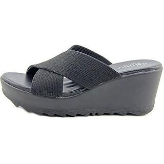 Callisto Womens Mardi Open Toe Casual Slide Sandals
