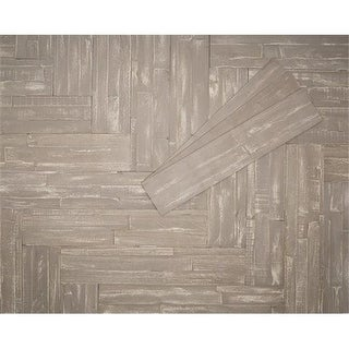 Mywoodwall 100100104 Wood Panel - Light Taupe